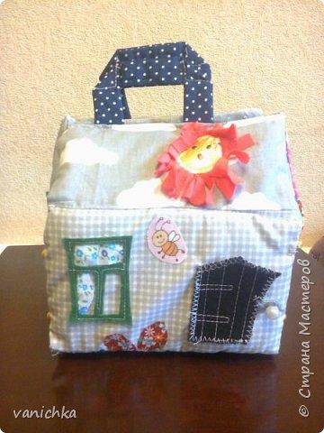 куколный домик -сумочка фото 1