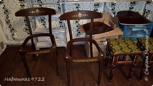 Добрый день, моя Любимая Страна Мастеров!  Я к вам теперь со стульями. Привезла их прошлой осенью с дачи. Ну жалко мне такое добро выкидывать. фото 13