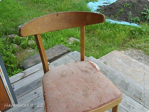 Добрый день, моя Любимая Страна Мастеров!  Я к вам теперь со стульями. Привезла их прошлой осенью с дачи. Ну жалко мне такое добро выкидывать. фото 2