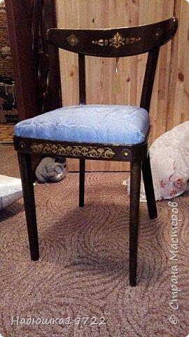 Добрый день, моя Любимая Страна Мастеров!  Я к вам теперь со стульями. Привезла их прошлой осенью с дачи. Ну жалко мне такое добро выкидывать. фото 1