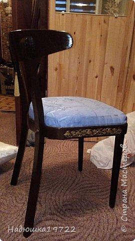 Добрый день, моя Любимая Страна Мастеров!  Я к вам теперь со стульями. Привезла их прошлой осенью с дачи. Ну жалко мне такое добро выкидывать. фото 24