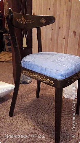 Добрый день, моя Любимая Страна Мастеров!  Я к вам теперь со стульями. Привезла их прошлой осенью с дачи. Ну жалко мне такое добро выкидывать. фото 25