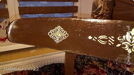 Добрый день, моя Любимая Страна Мастеров!  Я к вам теперь со стульями. Привезла их прошлой осенью с дачи. Ну жалко мне такое добро выкидывать. фото 16