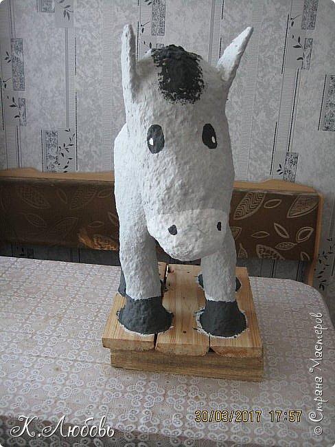 Привет всем жителям СМ! Вот мой долго вымученный ослик. Что-то долго я с ним мучилась, поэтому наверно такой грустный получился. фото 3