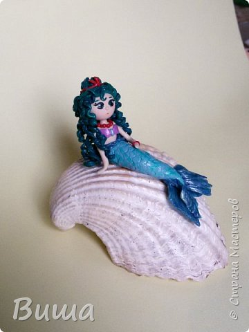 К принцессе на горошике добавилась вот такая крошка русалочка  фото 2