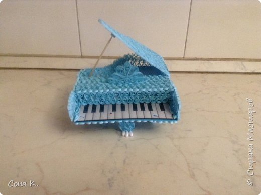 Рояль из квиллинга фото 8