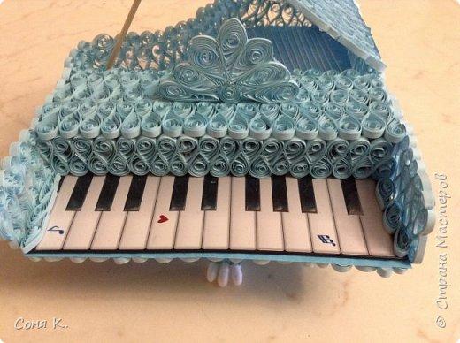 Рояль из квиллинга фото 2