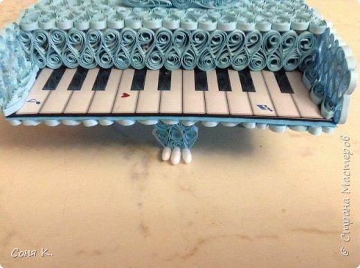 Рояль из квиллинга фото 5