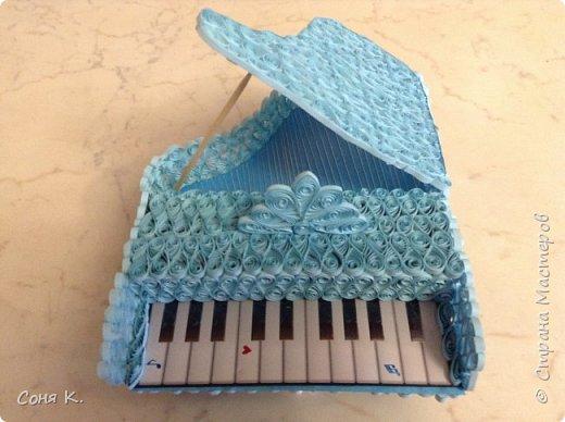 Рояль из квиллинга фото 7