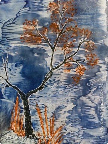 И снова, здравствуйте! Создалась у меня серия необыкновенных, или диковинных деревьев...и скорее даже необыкновенных стволов у деревьев. Очень интересно и увлекательно их рисовать. фото 1