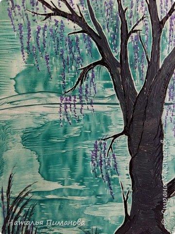 И снова, здравствуйте! Создалась у меня серия необыкновенных, или диковинных деревьев...и скорее даже необыкновенных стволов у деревьев. Очень интересно и увлекательно их рисовать. фото 2