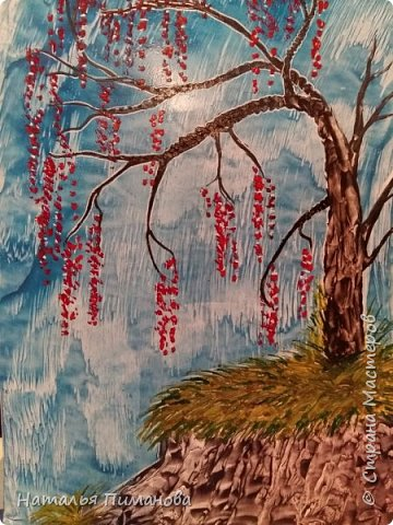 И снова, здравствуйте! Создалась у меня серия необыкновенных, или диковинных деревьев...и скорее даже необыкновенных стволов у деревьев. Очень интересно и увлекательно их рисовать. фото 3