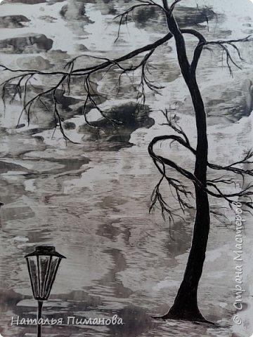 И снова, здравствуйте! Создалась у меня серия необыкновенных, или диковинных деревьев...и скорее даже необыкновенных стволов у деревьев. Очень интересно и увлекательно их рисовать. фото 5