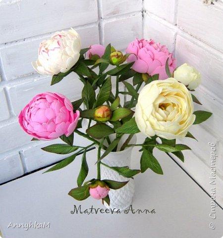 Здравствуй, Страна Мастеров! Захватили меня полноразмерные цветы. Вот такой букет для себя вырос за 4 дня. Извините, много фото. фото 7