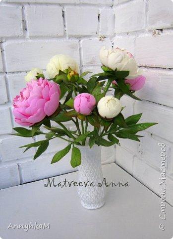 Здравствуй, Страна Мастеров! Захватили меня полноразмерные цветы. Вот такой букет для себя вырос за 4 дня. Извините, много фото. фото 1