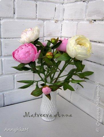 Здравствуй, Страна Мастеров! Захватили меня полноразмерные цветы. Вот такой букет для себя вырос за 4 дня. Извините, много фото. фото 2