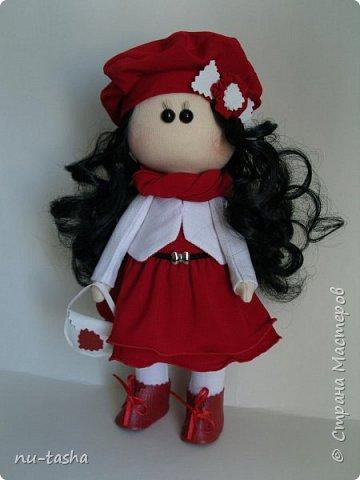 """Новая интерьерная куколка из серии """"Модницы"""" - Эва. Рост 30 см, стоит самостоятельно, руки-ноги двигаются. фото 1"""
