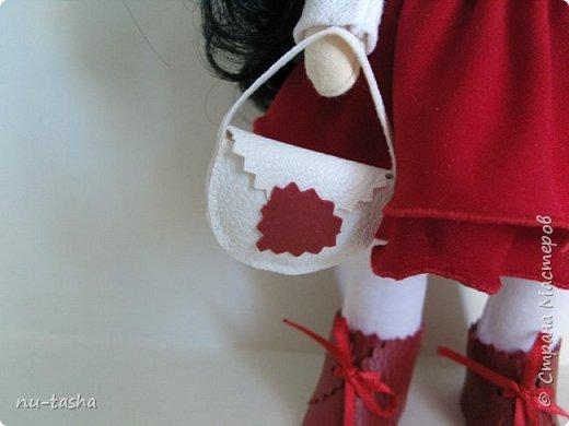 """Новая интерьерная куколка из серии """"Модницы"""" - Эва. Рост 30 см, стоит самостоятельно, руки-ноги двигаются. фото 5"""
