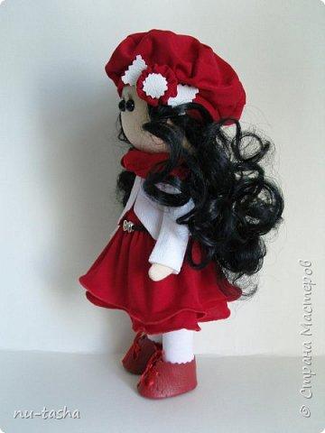 """Новая интерьерная куколка из серии """"Модницы"""" - Эва. Рост 30 см, стоит самостоятельно, руки-ноги двигаются. фото 3"""