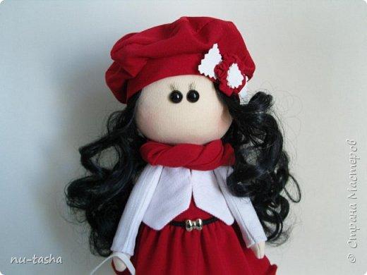 """Новая интерьерная куколка из серии """"Модницы"""" - Эва. Рост 30 см, стоит самостоятельно, руки-ноги двигаются. фото 4"""