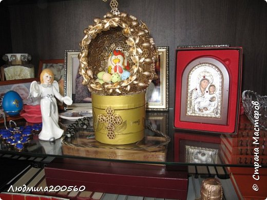 """Пасхальный сувенир""""Семейное счастье"""""""