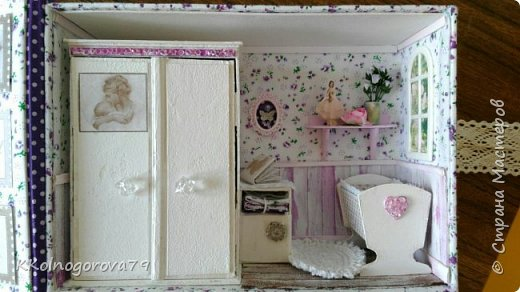 Эта коробочка для мам маленьких деток. В ней могут храниться памятные записи и вещи малышей. фото 1