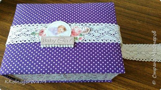 Эта коробочка для мам маленьких деток. В ней могут храниться памятные записи и вещи малышей. фото 3