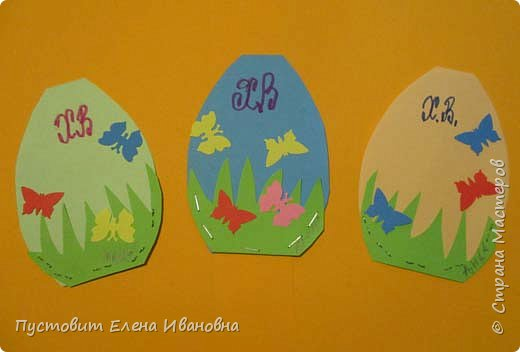 """Зимой делали рождественского ангелочка, детворе игрушка понравилась.Решили сделать весеннего ангелочка с пасхальными яичками. Открыточка-яичко уже """"архивная"""", сделана четыре года назад - такие сувениры можно посмотреть по ссылке: https://stranamasterov.ru/node/536377   фото 4"""
