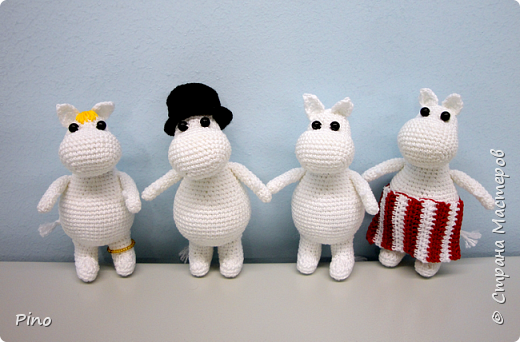 По описанию Clairette. https://samigurumi.wordpress.com/2011/12/04/amigurumi-moomintroll-free-pattern-woo-yeah-free/  фото 2