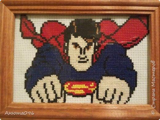 """Вышивка крестиком """"Superman"""""""