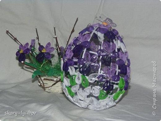 Яйцо на подставке размер  20см фото 2