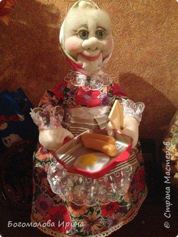 Бабулька на заварочный чайник фото 1