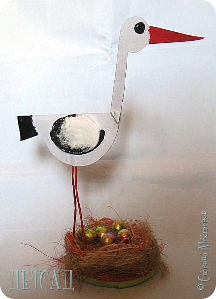 Вот такая птаха на гнезде у нас получилась фото 2