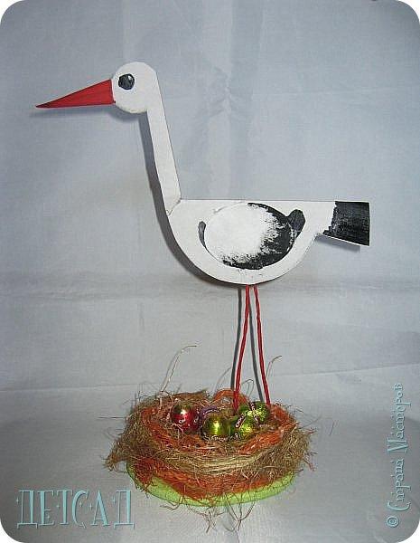 Вот такая птаха на гнезде у нас получилась