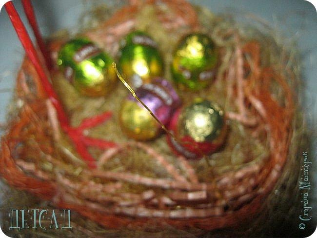 Вот такая птаха на гнезде у нас получилась фото 3