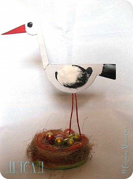Вот такая птаха на гнезде у нас получилась фото 4