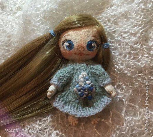 Кукла Эльф)Рост 22 см, вся одежда снимается, волосы можно расчёсывать и делать прически) фото 4