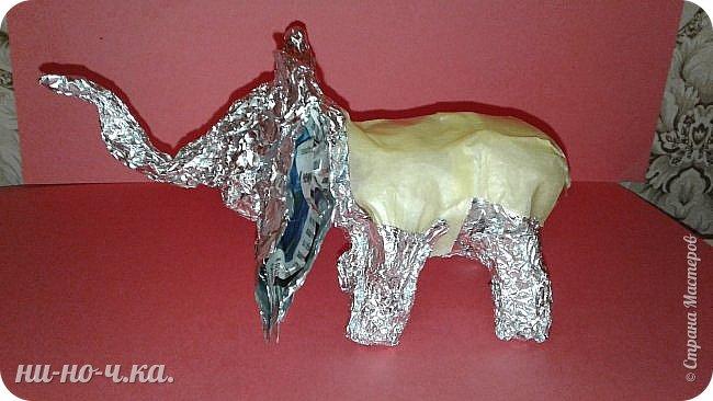 """Мой слоник в стиле """"А-ля Гжель"""". фото 3"""