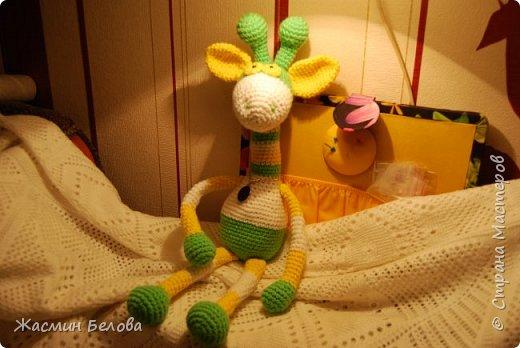 Амигуруми. Жирафик Тимоха. фото 4