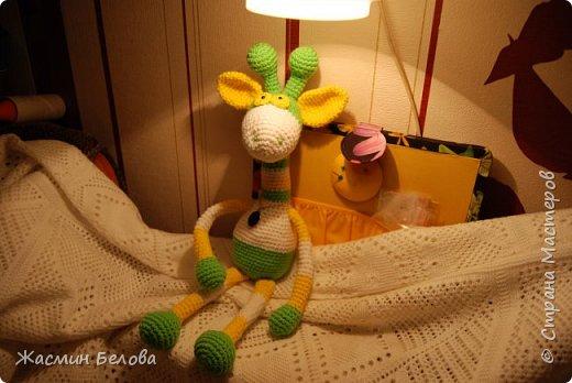 Амигуруми. Жирафик Тимоха. фото 5