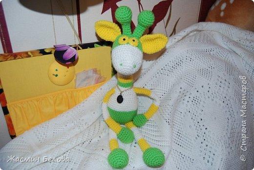 Амигуруми. Жирафик Тимоха. фото 6
