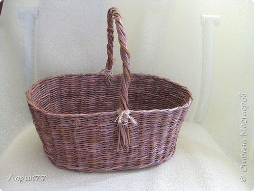 Здравствуйте! Моё первое плетение из корня. фото 6