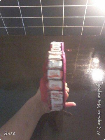 сердце с конфетами  фото 2