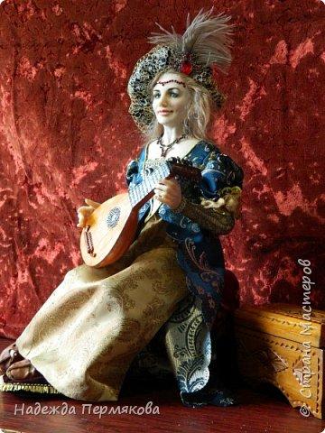 """Кукла из пластика """"Ренесанс"""" фото 2"""