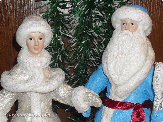 Классические Дед Мороз и Снегурочка фото 2