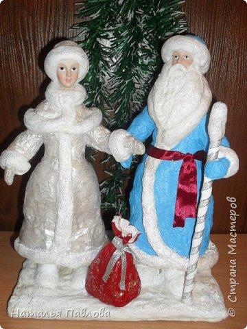 Классические Дед Мороз и Снегурочка фото 1