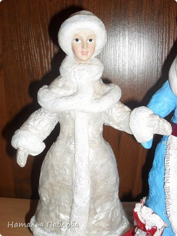 Классические Дед Мороз и Снегурочка фото 3