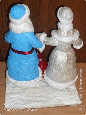 Классические Дед Мороз и Снегурочка фото 5