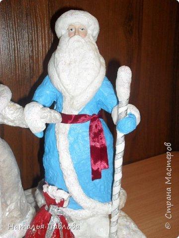 Классические Дед Мороз и Снегурочка фото 4