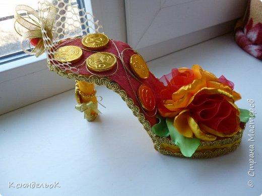 Мое новое творение - туфелька для Золушки! фото 2